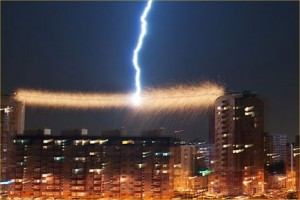 Powerline-Vaporized-by-Lightning-Strike