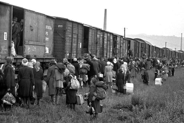 Holocaust-train-Sudeten-Germans